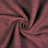 Woven Technics and Cut flower Style Double Color Plain Fabric