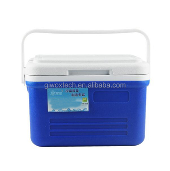 6L Portable Insulated Plastic Cooler Box for picnic
