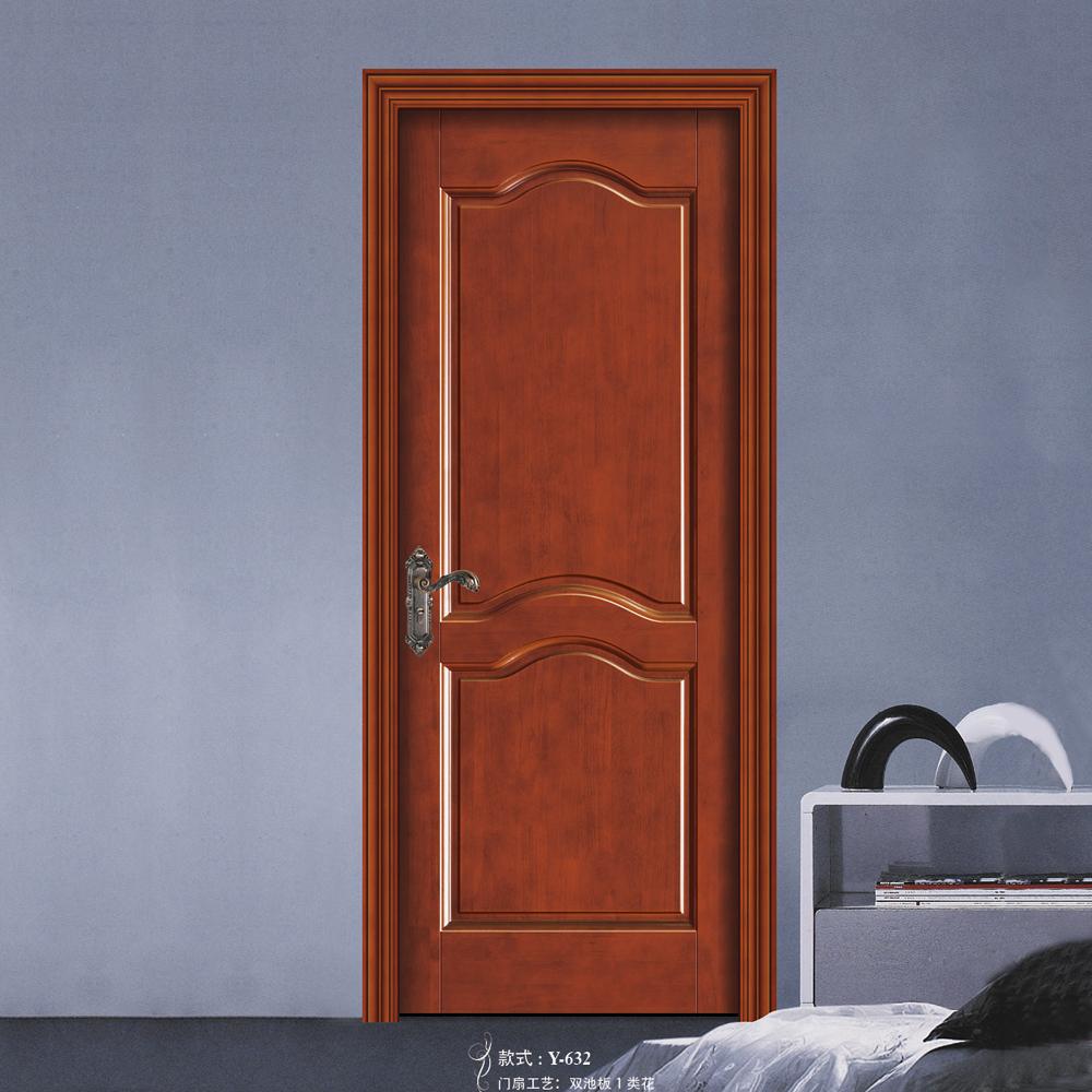 hot sale simple design interior solid wood door buy