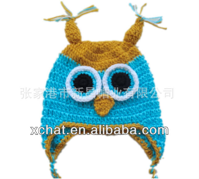 new baby hat manual wool knitting hat animal hat knitting patterns
