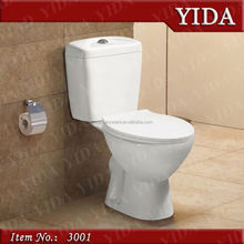 Tanzania two piece toilet s trap 250mm, top quality bathroom wc, toilet logo for customer