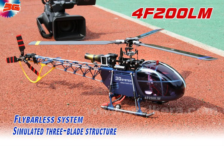 Walkera 4F200LM Three-axis 2.4GHz brushless flybarless RC Helicopter