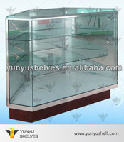 wholesale aluminum glass top display case