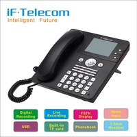 Auto Recording Answer Call ID Telephone