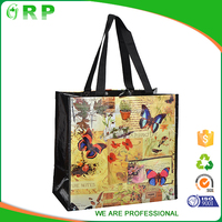 Nice eco pp woven supermarket pet shopping bag