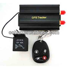 Engine immobilizer gps car tracker with door alarm