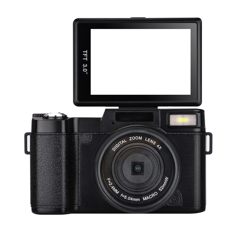 "3.0"" Display HD 1080P UV Filter 0.45X R2 SLR Digital Video Camera"