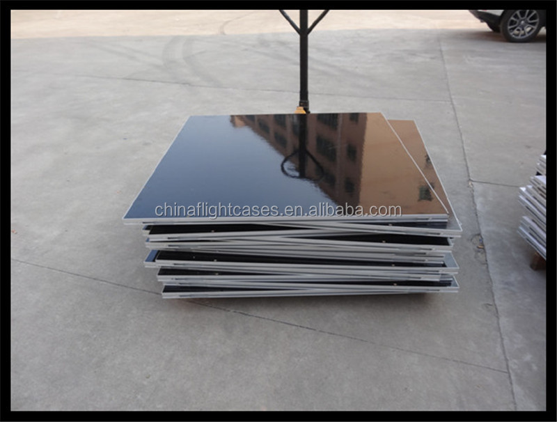 Portable dance floor material wedding and event decor