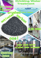 Water treatment activated carbon price ton crushed coal