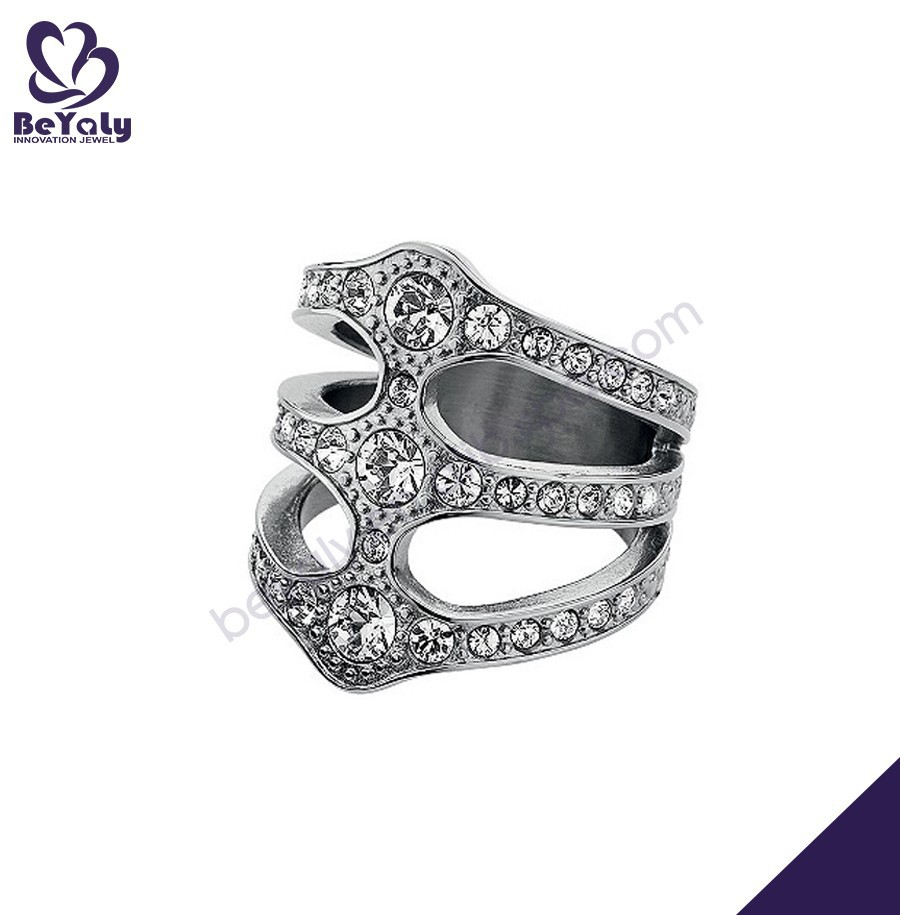 hot sale fashion desing ring jewelry diamond nose ring