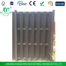 WPC garden fence Composite fencing screen panels easy installation