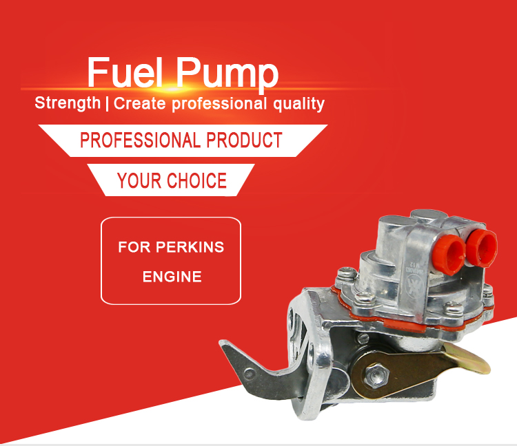 High Quality OEM 2641A063 Tractor Spare Parts Fuel Pump Engine Zinc Fuel Pump for Massey Ferguson 240