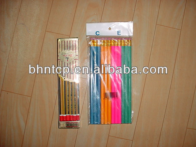 1 Dollar Store Stationary China Product Cheap Plastic pen Pencil 12pcs
