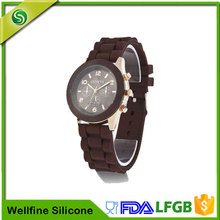 Custom Silicone Led Watch, Waterproof Digital Silicone Wristband Watch
