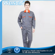 reflective bright colored polyester workwear overalls