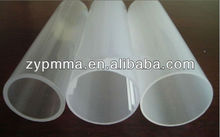 Cast Plastic Flexible Frosted Acrylic Tubes