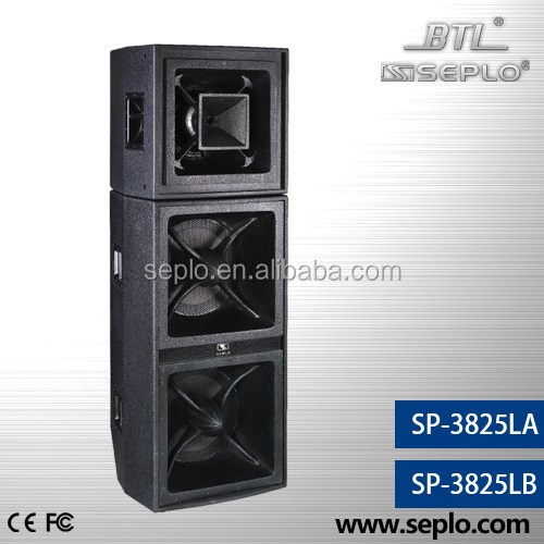 professioanl loudspeaker SP-3825LB/hdmi to rca audio custom av solutions