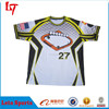 Latest baseball t-shirt design 2016 Sublimation custom baseball tops/jersey