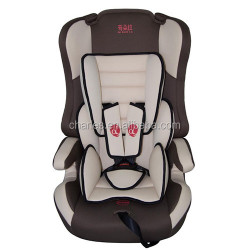 brown plastic&fabric baby car seat