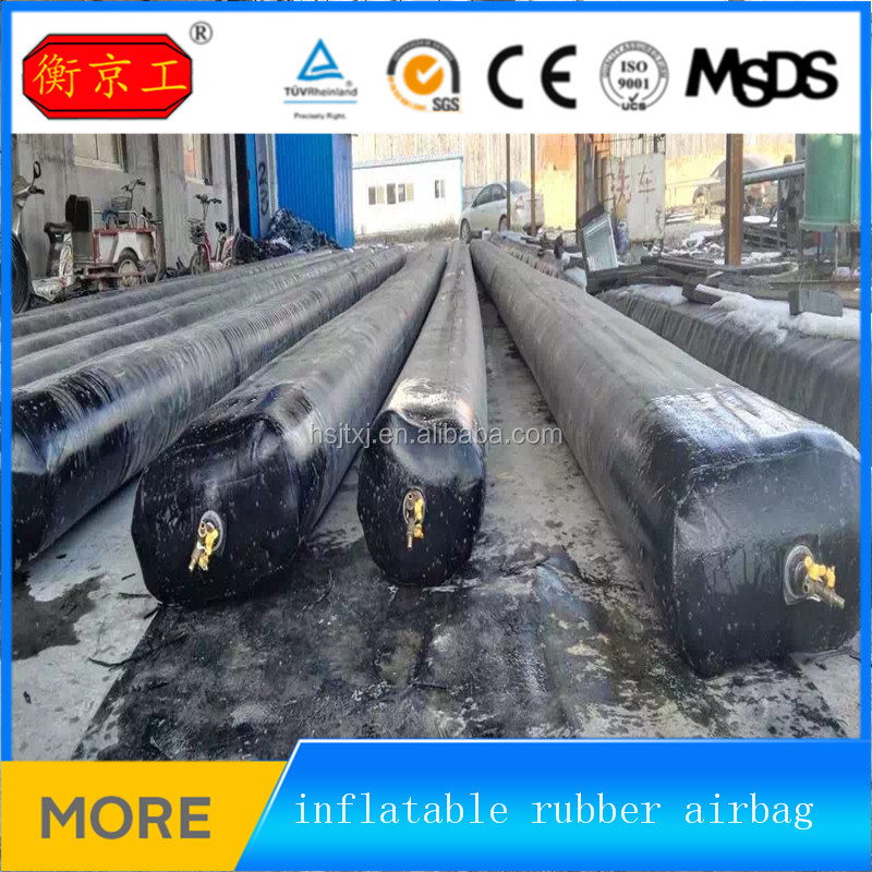 10m (L) X 900mm (Dia) China Reused Inflatable/Pneumatic Rubber Balloon for Culvert