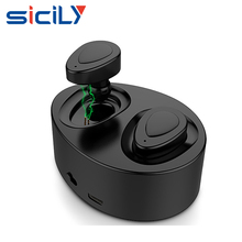 Wireless Earbuds with Charging Case, Noise-Cancelling V4.1 Wireless Bluetooth Headphones with Microphone