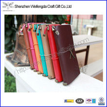 Multi-color Top-grade Leather Handmade Paper Notebook Leather Cover for Notebook