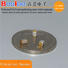 Normally open mini vibration sensor for alarm module