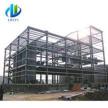 Easy and simple to handle hot dip galvanized construction design steel structure warehouse
