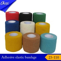 With 16years manufacture factory supply strong fabric elastic adhesive bandage