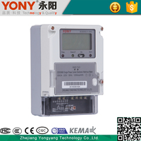 Active Measurement Single Phase Energy Meter Electric