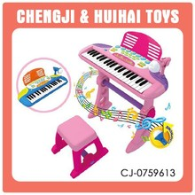 plastic musical instrument toy electronic organ