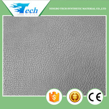 2015 embossed PU microfiber synthetic leather for shoes and sofa