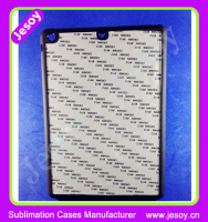 JESOY New Product Rubber Phone Case Sublimation 2D For Apple iPad 2 3 4 Cover Case
