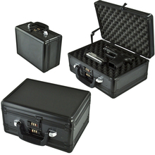 Professional Double Open Safety Aluminum Gun Box For Military Pistols