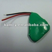 ni-mh button cell 2.4v 110mAh rechargeable battery