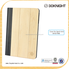 Top Quality Bamboo Wooden Case Back Hard Wood Cover for iPad mini