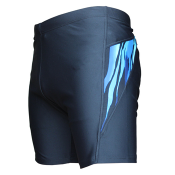 logo acceptable men half swim shorts quick dry swim trunks