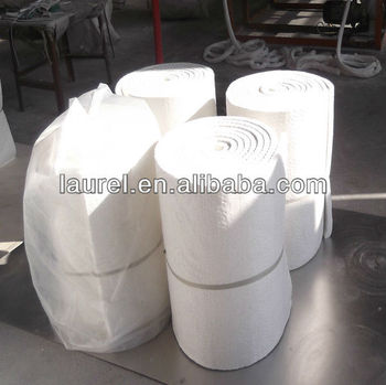 High pure mineral wool blanket for insulation of for Mineral fiber blanket insulation