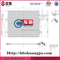 spare part air conditioning condenser