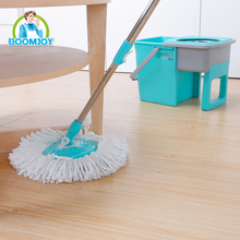 DRAWER TYPE 360 ROTATING STAINLESS STEEL HANDLE FOLDABLE SPIN MOP