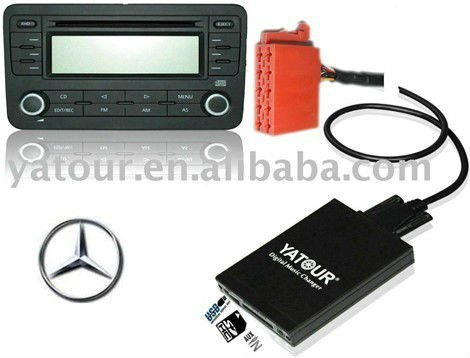 car digital cd changer for mercedes
