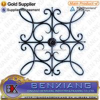 ornamental cast iron rosettes