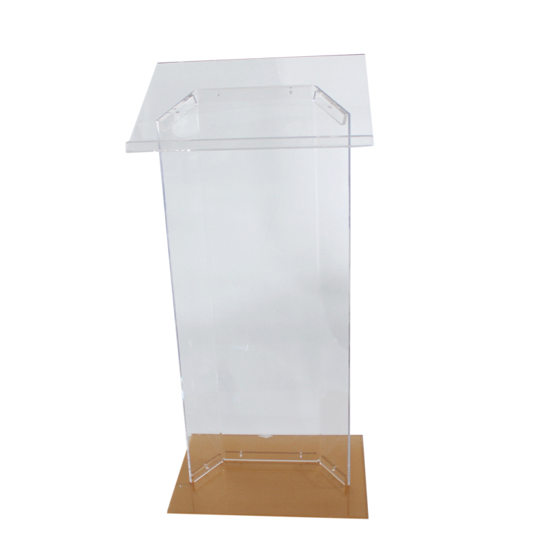 Hot selling Clear Acrylic Lectern customize acrylic podium for sale wholesale lecterns and podiums