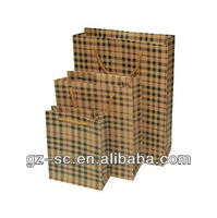 kraft paper bag shop and advertisement