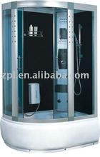 Computer controlled steam shower room