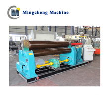 Industrial price sheet metal bending roller machine W11S bending rolling machine plate and cone roller
