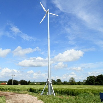 2kw-30kw Wind Turbine Generator Series Guild MCS, CE 5KW Wind Mill
