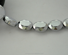 Best Sale Silver Oval Handmade Fruit Shaped Beads