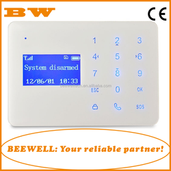 Wholesale easy operation touch keypad 433mhz wireless home security cdma gsm android mobile phone