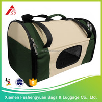 China new design popular 600D polyester nylon dog carrier / pet cage